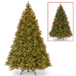 9 ft. PowerConnect Downswept Douglas Fir Tree with Dual Color® LED Lights