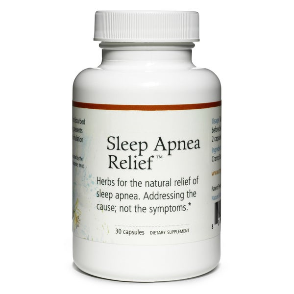 Sleep Apnea Herbal Remedy (30 Capsules)
