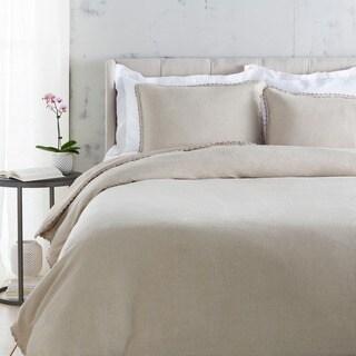 Sidney Solid Color Linen Duvet Cover Set