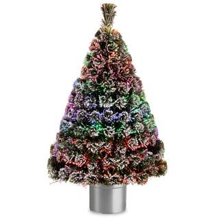 Ez Change Fiber Optic Christmas Tree 7 Ft 1006160
