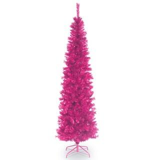 6 ft. Tinsel Tree  Pink