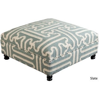 "Acworth Geometric Cocktail Ottoman (32"" x 32"" x 16"")"