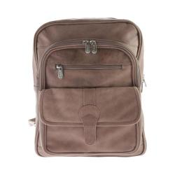 Piel Leather Medium Buckle Flap Backpack 3060 Toffee