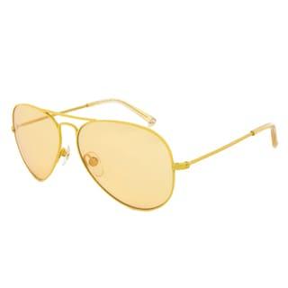 Michael Kors M2061S 750 Rachel Yellow Aviator Sunglasses