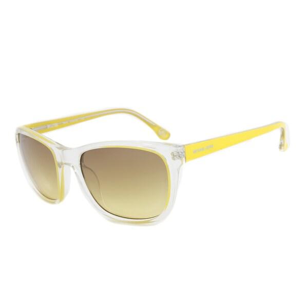 Michael Kors M2904S 750 Tessa Yellow Wayfarer Sunglasses