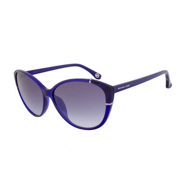 Michael Kors M2887S 531 Paige Crystal Iris Cateye Sunglasses