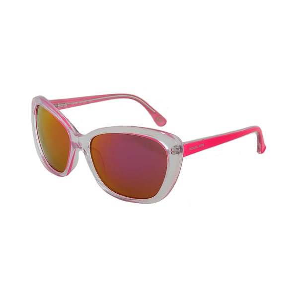 Michael Kors M2903S 628 SABRINA Translucent Clear/Pink Cateye Sunglasses