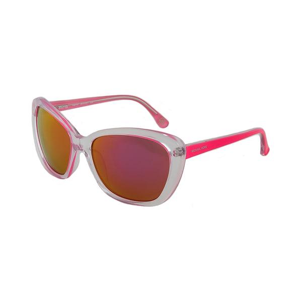 Michael Kors M2903S 628 SABRINA Translucent Clear/Pink Cateye Sunglasses