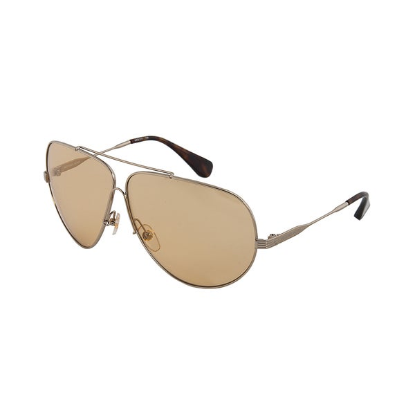 Michael Kors MKS177 756 Gold Aviator Sunglasses