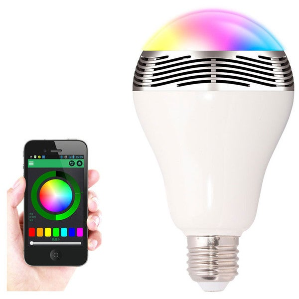 2-in-1 LED Light Bulb/ Bluetooth Speaker
