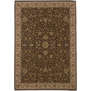 Updated Old World Persian Flair Red/ Ivory Area Rug (10' x 12'7)