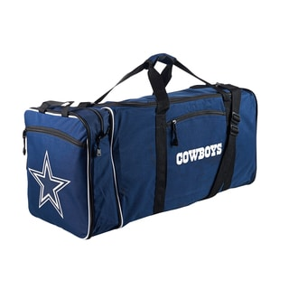 NFL Dallas Cowboys 28-inch Blue Duffel Bag