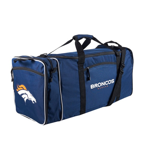 NFL Denver Broncos 28-inch Blue Duffel Bag