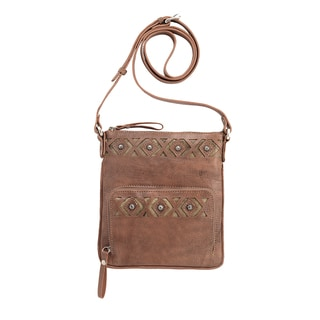 American West 4113493 Moon Dancer Crossbody Bag