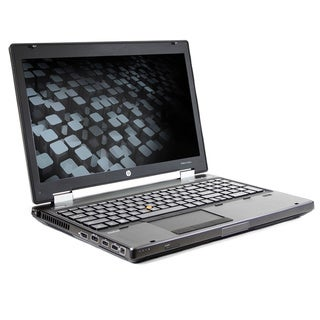 HP Elitebook 8560w 15.6-inch 2.6GHz Intel Core i5 6GB RAM 500GB HDD Windows 7 Laptop (Refurbished)