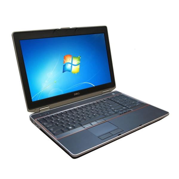 Dell Latitude E6520 15.6-inch 2.5GHz Intel Core i5 8GB RAM 128GB SSD Windows 7 Laptop (Refurbished)