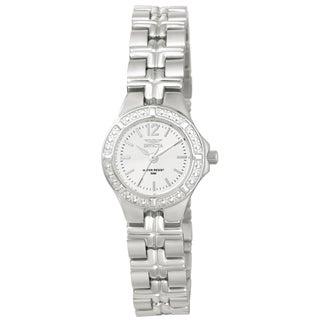 Invicta Women's 0129 Wildflower Quartz 3 Hand White Dial Watch
