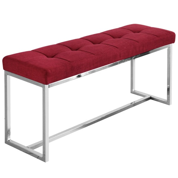 Vibes 39-inch Tufted Double Bench