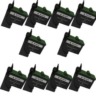 10PK 10N0217 ( #17 ) Compatible Ink Cartridge For Lexmark Z13 Z23 Z25 Z33 Z35 Z515 (Pack of 10)