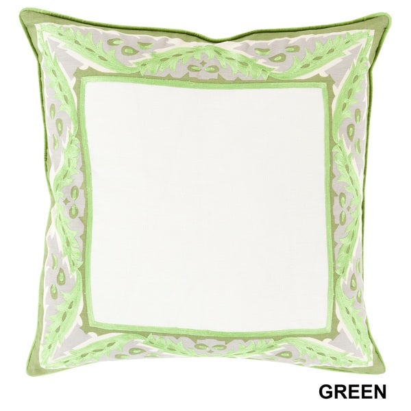 Florence de Dampierre: Decorative Abigail Floral 20-inch Pillow