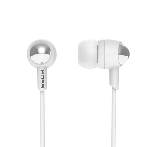 Koss Il 100 White Ear Bud Headphones