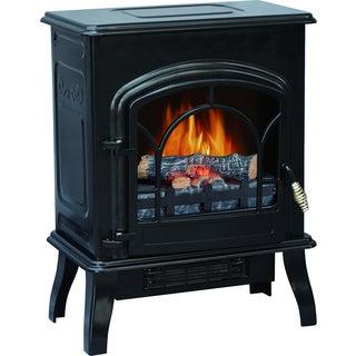 Nostalgic Electric Fireplace Stove