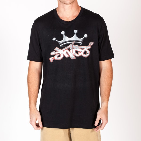 JNCO Men's Crown Logo Patch Tee