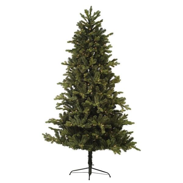 7.5-foot Pre-lit Greenwood Tree