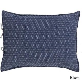Brenda Dot Blue Reversible Cotton/Flax Sham