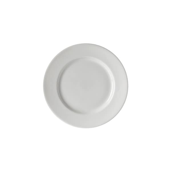 Z-Ware White Porcelain Bread & Butter Plate Set of 6