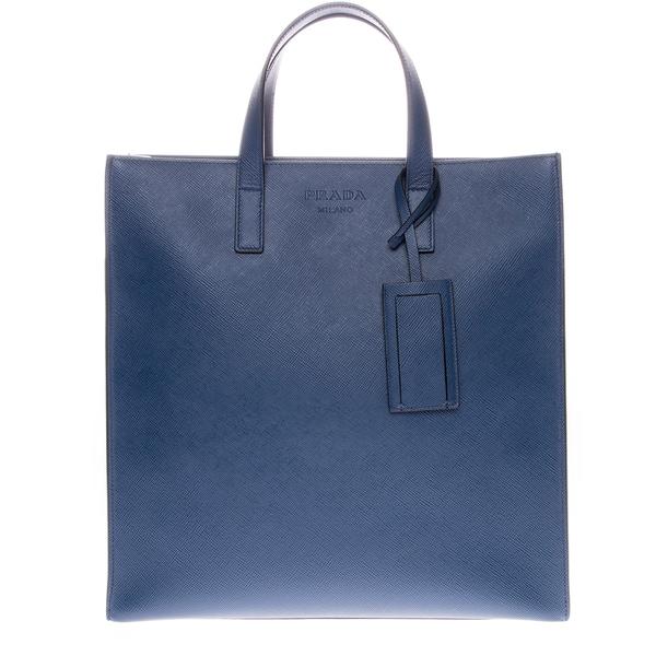Prada Saffiano Cuir Travel Handbag