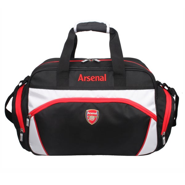 Arsenal Team 17-inch Black Sport Duffel Bag