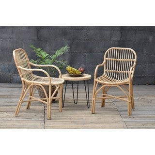 Birdie Rattan Chair Natural