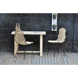 Leo Rattan Chair Natural