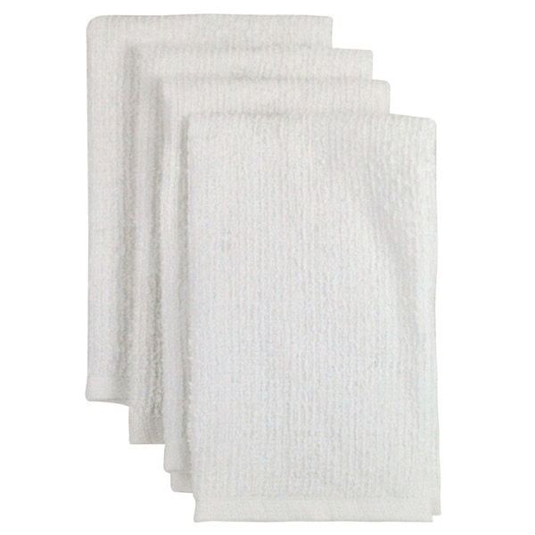 100-percent Cotton Bar Mop Kitchen Towel (Set of 4)