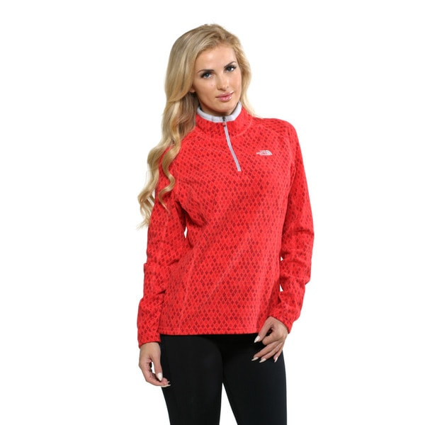 The North Face Women's Moroccan Printed TKA Glacier 1/4 Zip