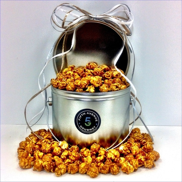 The Gourmet Caramel Popcorn Tin