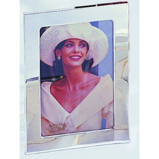 """Elegance Silver Plated 3x5"""" Photo Frame"""