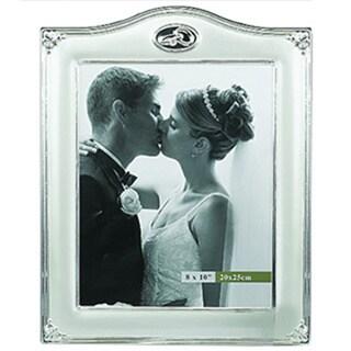 Elegance 8 X 10 WEDDING RINGS FRAME WITH CRYSTAL - Photo Frame