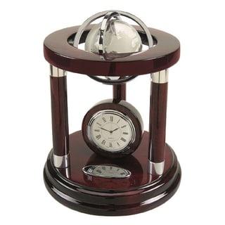 Elegance Galaxy Globe and Clock