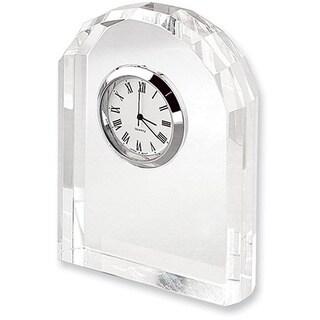 Elegance Crystal Arch Clock