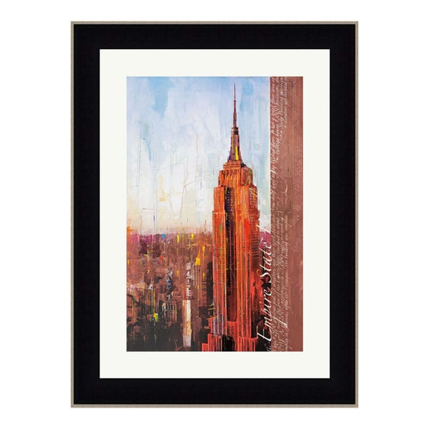 Markus Haub 'Fifth Avenue And West 34th Street' 50 x 38 Framed Art Print