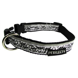 Petflect Damask Reflective Dog Collar
