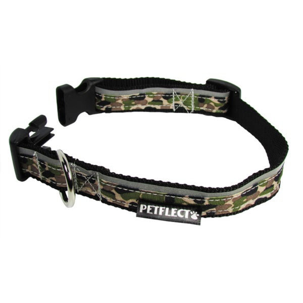 Petflect Camouflage Reflective Dog Collar