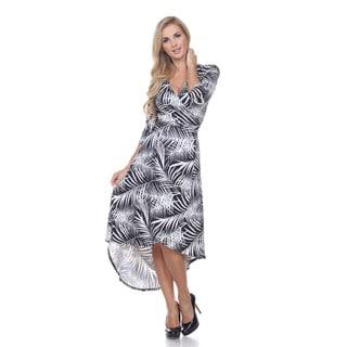 White Mark Women's 'Mariah' Wrap Dress