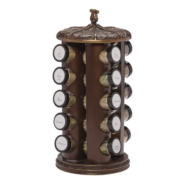 Bombay 20 Jar Classic Spice Rack