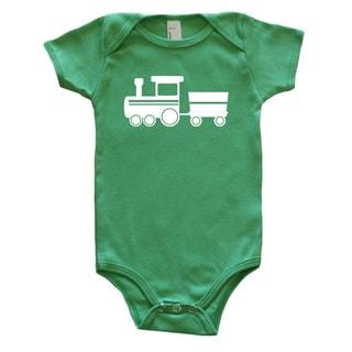 Rocket Bug Baby Bodysuit-Train