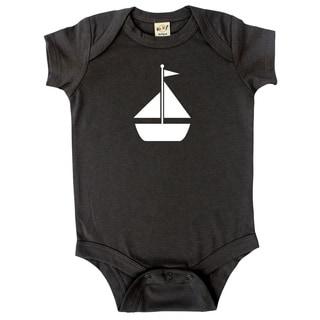 Rocket Bug Baby Bodysuit-Sailboat