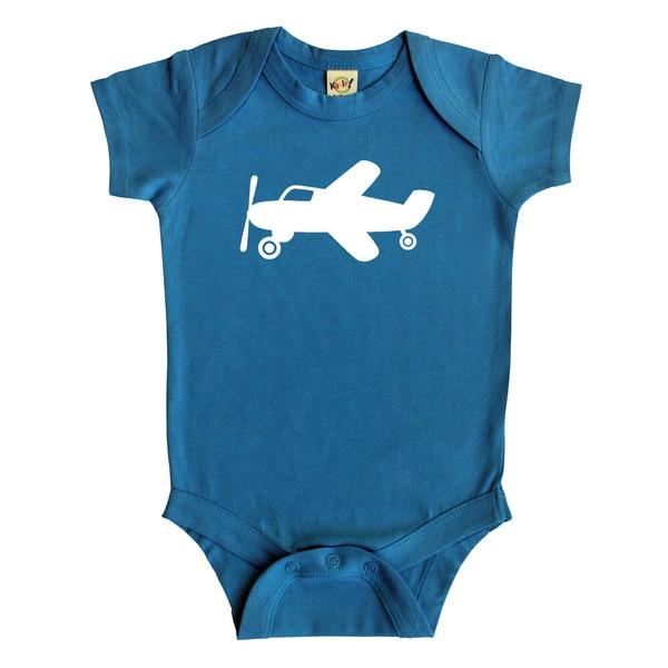 Rocket Bug 'Airplane' Baby Bodysuit