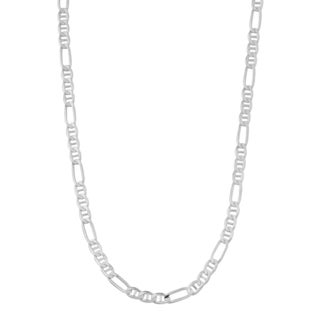 Fremada Sterling Silver 3.3-mm Concave Chain Necklace (18 - 22 inches)